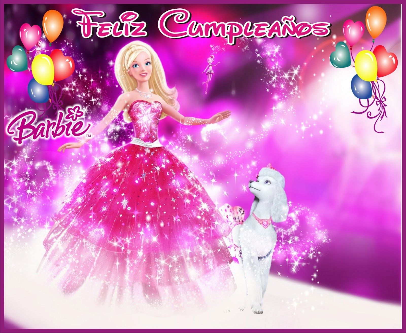 Tarjetas De Cumpleaños Barbie En Hd Gratis Para Descargar 4 en HD ...