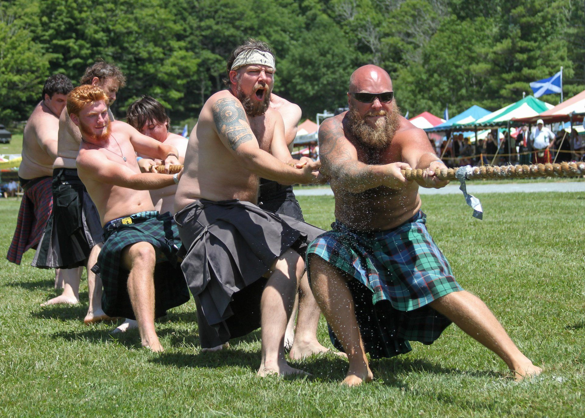 Grandfather Mountain Highland Games 2020 in North Carolina