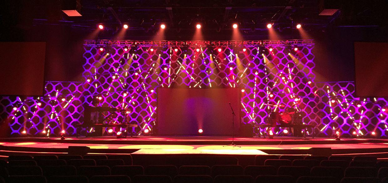 Random Lines From Journeychurch Tv In Norman Ok Church Stage Design Ideas Church Stage Design Stage Design Church Stage