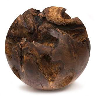 Walnut Root Ball by Keith Holamon holamonstudio.com