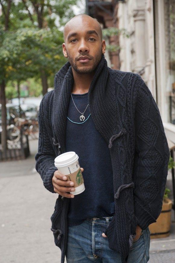 Cardigan shirt jeans fashion men tumblr streetstyle New york jeans beard df891224c