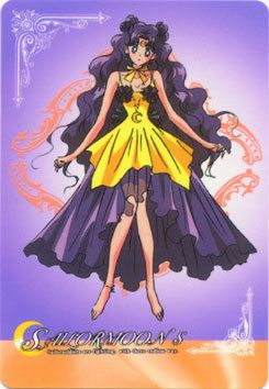 Sailor Moon Human Luna Cosplay Anime Costume Size 4 6 8 10 12 Free