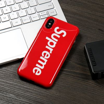 separation shoes a8418 9eeb1 Supreme Classic iPhone X/8/7/6S/Plus Phone Case Red | Repins in 2019 ...