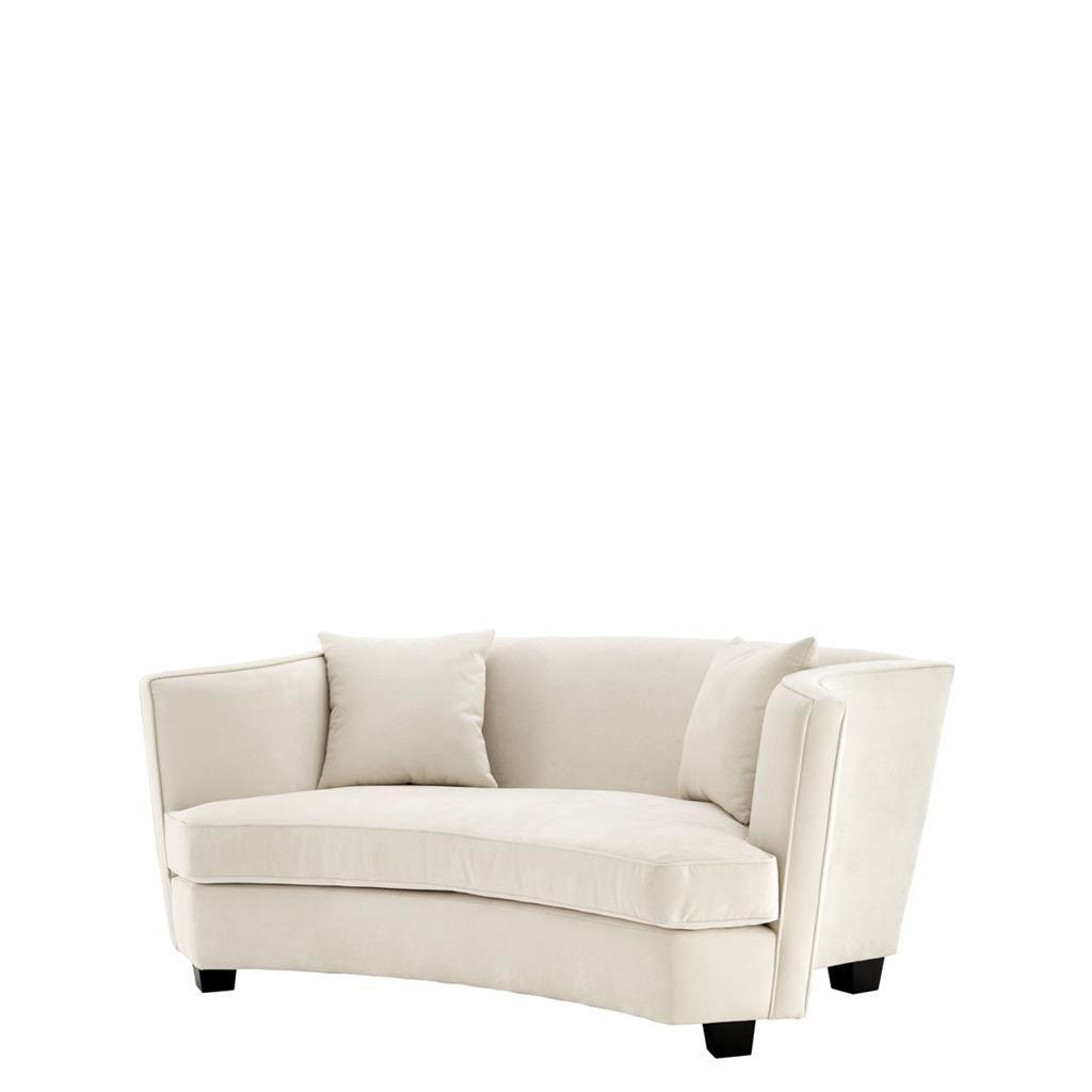 EICHHOLTZ Sofa Giulietta 2  Sitzer Ecru Bei Villatmo.de | VILLATMO   Designer  Möbel