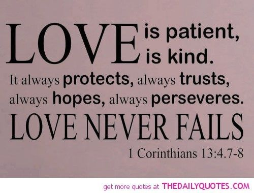 Quotes About Love From The Bible