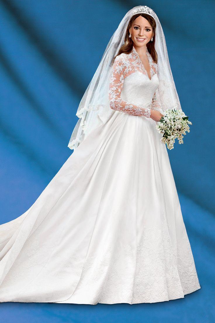 Princess Catherine Royal Elegance Bride Doll | Casa de barbie ...