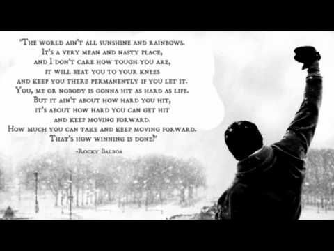 Rocky Speech Google Search Rocky Balboa Quotes Rocky Quotes Motivational Quote Posters