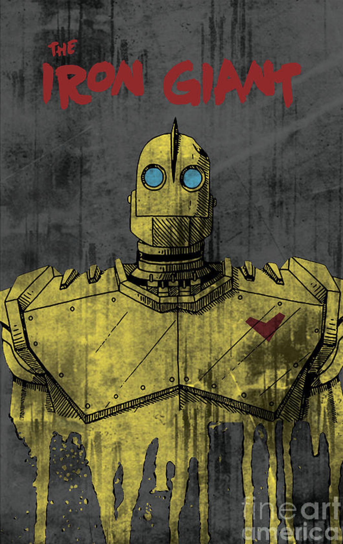 The Iron Giant by Rolando Pinto | robots | Pinterest | El gigante de ...