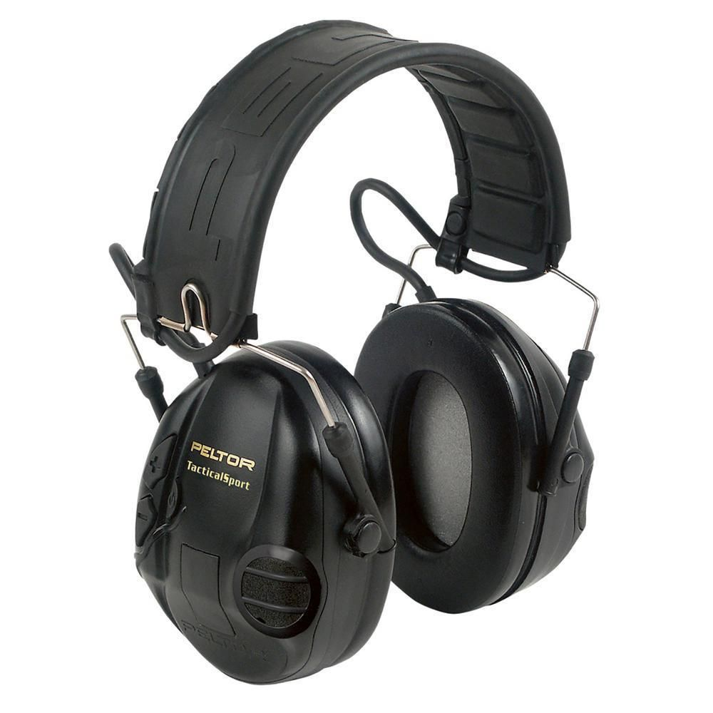 3M Peltor Sport Tactical Hearing Ears Protection Black