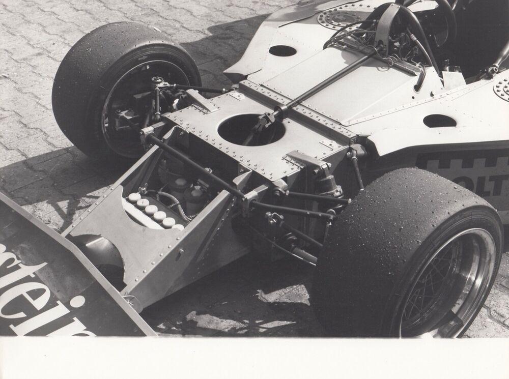 WARSTEINER TOJ F201 BMW HOCKENHEIM CLARK TROPHY F2 1976