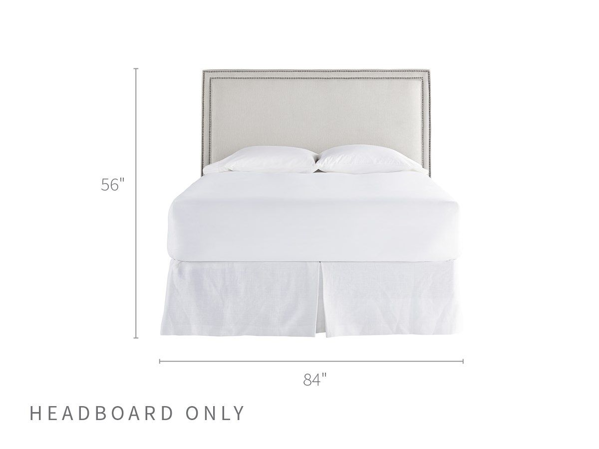Universal Furniture Spaces Jennings King Cal King Headboard Cal King Headboard King Headboard Bedroom Furnishings