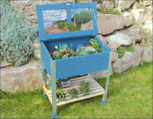 Balkon Hochbeet Selber Bauen great garden idea to raise your veggies in a cold frame diy