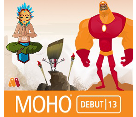 Moho Debut 13 for beginner animators is fun, easy, and