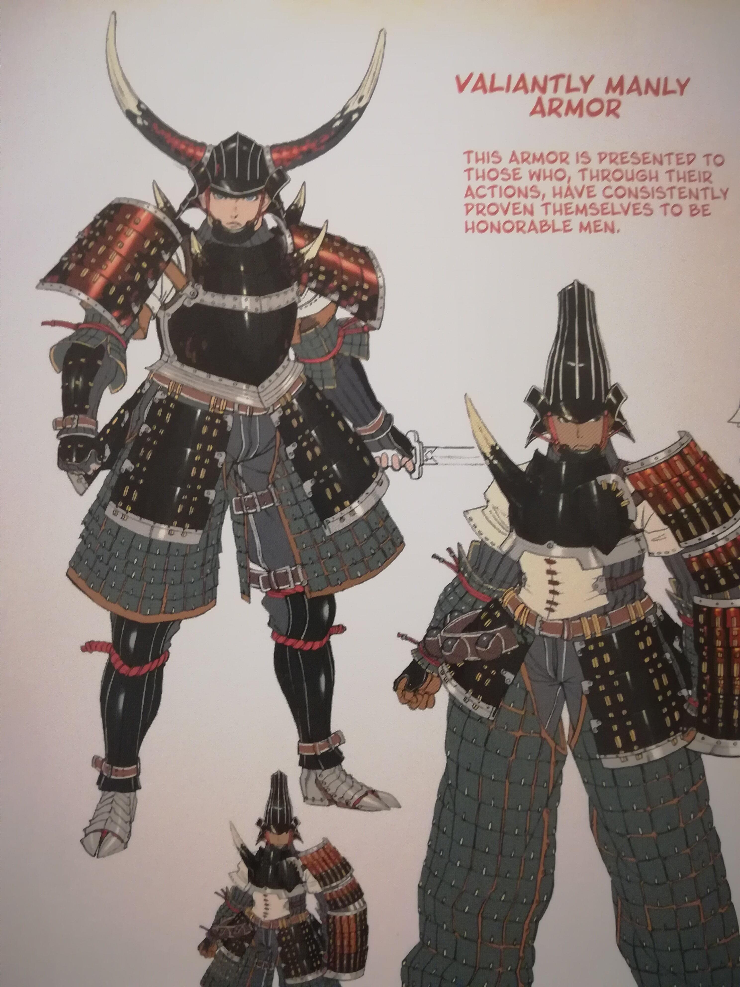 The Lao-Shan Auroros armour had a fantastic name in the MHFU
