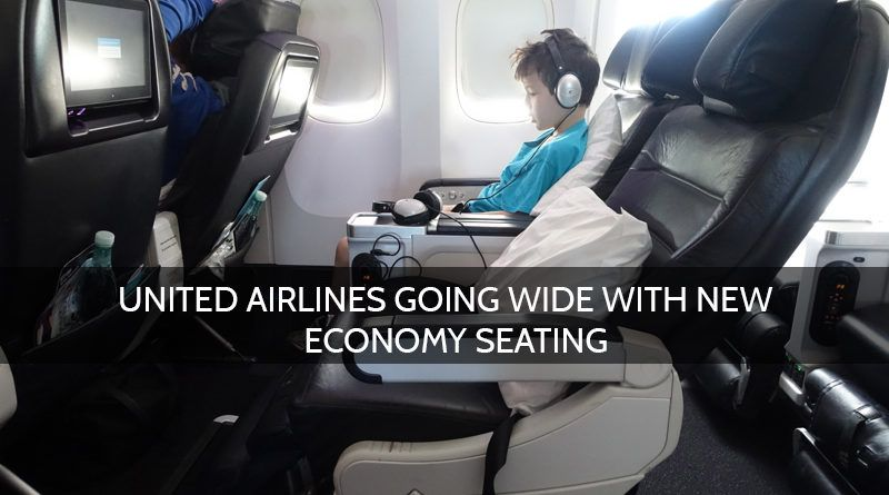 United Airlines Wider Economy Seats For Passengers Economy