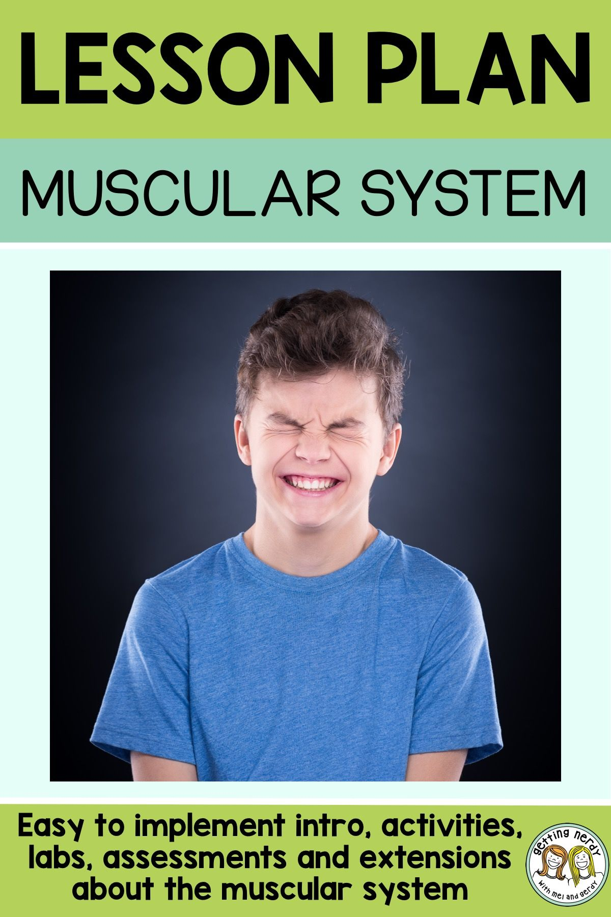 Lesson Plan Muscular System Blinking Lab
