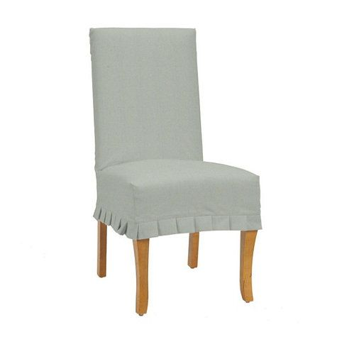 Marvelous Couture Chair Ballard Essential Pleated Slipcover Gmtry Best Dining Table And Chair Ideas Images Gmtryco