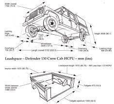 land rover defender 130 dimensions ile ilgili görsel