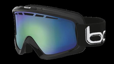 45dab7a31753 Bolle Nova II Snow Goggles Shiny Black Green Emerald