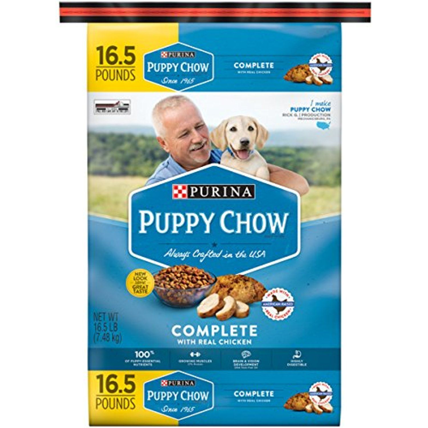Purina Puppy Chow Complete Dry Dog Food 1 16 5 Lb Bag The