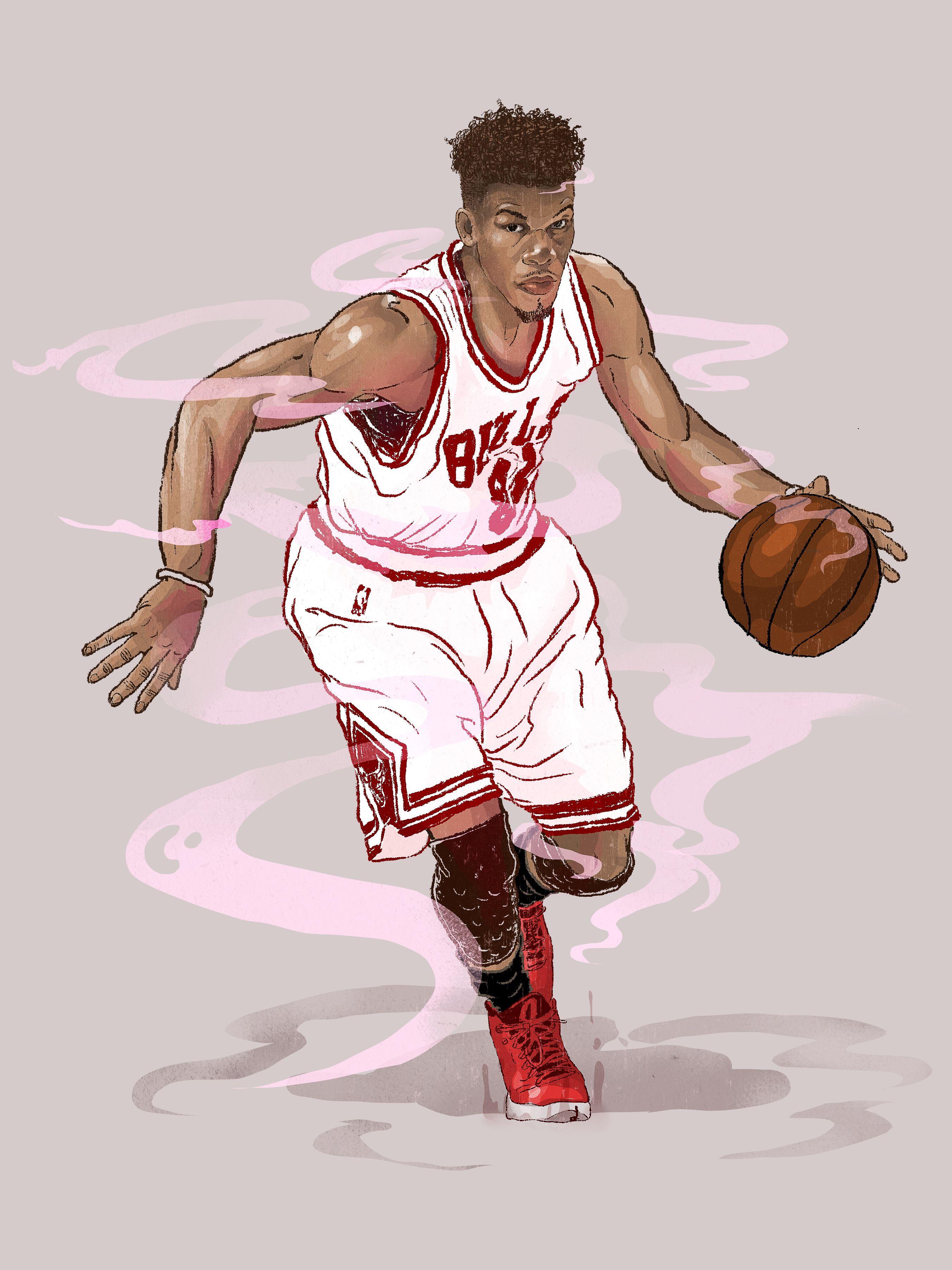 Jimmy Butler Nba Basketball Art Nba Pictures Nba Art