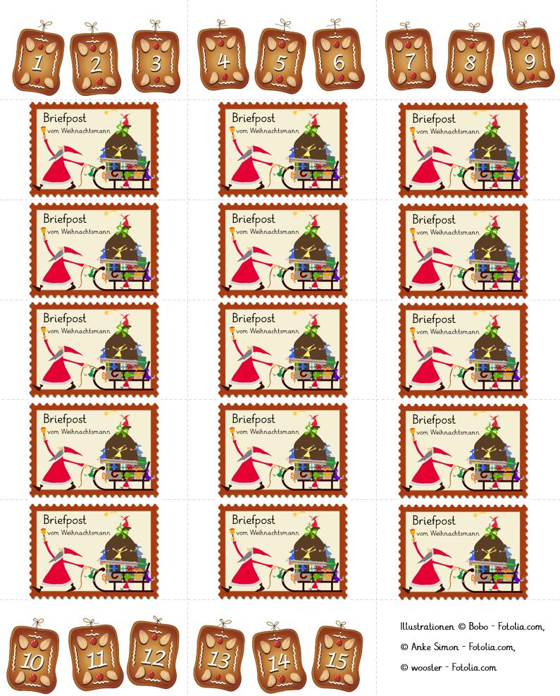 briefe von dem weihnachtsmann mit bildern  briefe