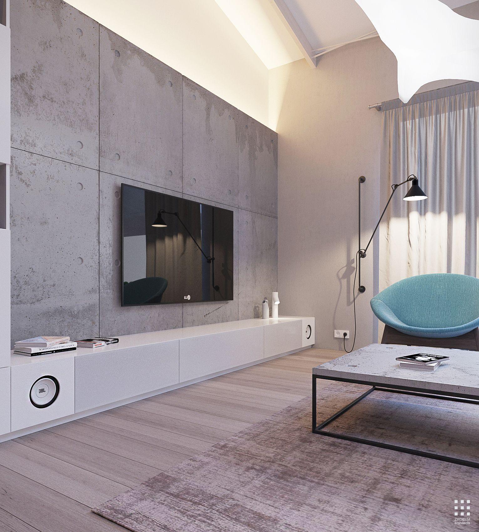 Studio zrobym architectsdesign and visualization dmitry sheleglocation minsk belarus s - Einbauschrank wohnzimmer ...