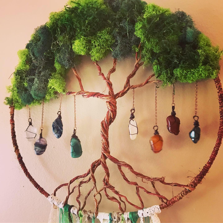 Photo of Kristall-Chakra-Baum des Lebens