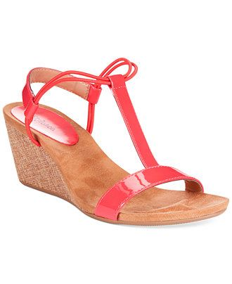c5dd63ec73740 Style co. Mulan Wedge Sandals - Sandals - Shoes - Macy s