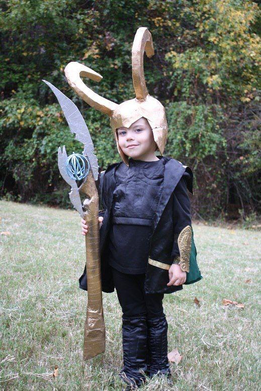 bad ass loki diy halloween costume great job ginny