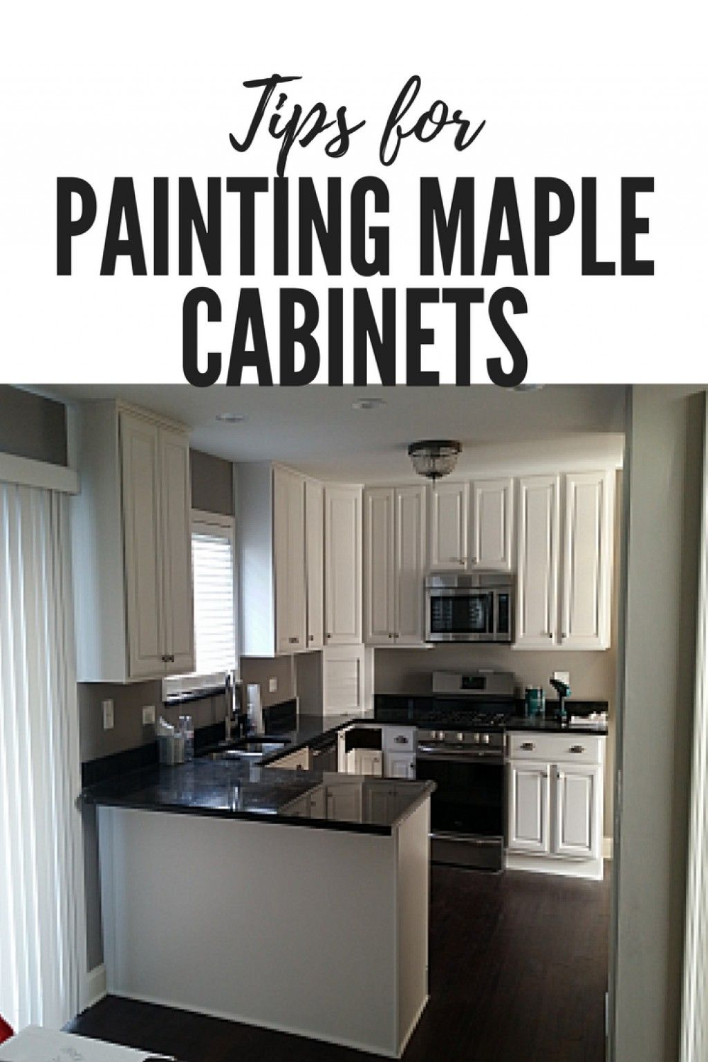 Tips For Painting Maple Cabinets With Images Maple Kitchen Cabinets Maple Cabinets New Kitchen Cabinets