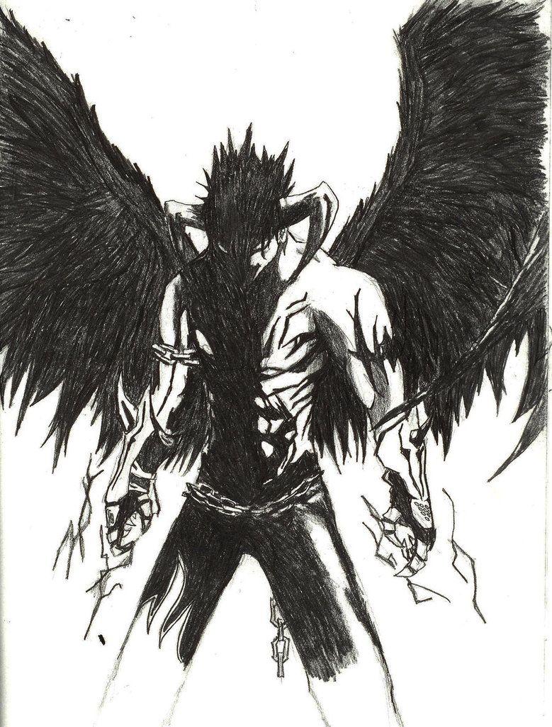 devil drawing | Tekken | Drawings, Demon drawings, Anime