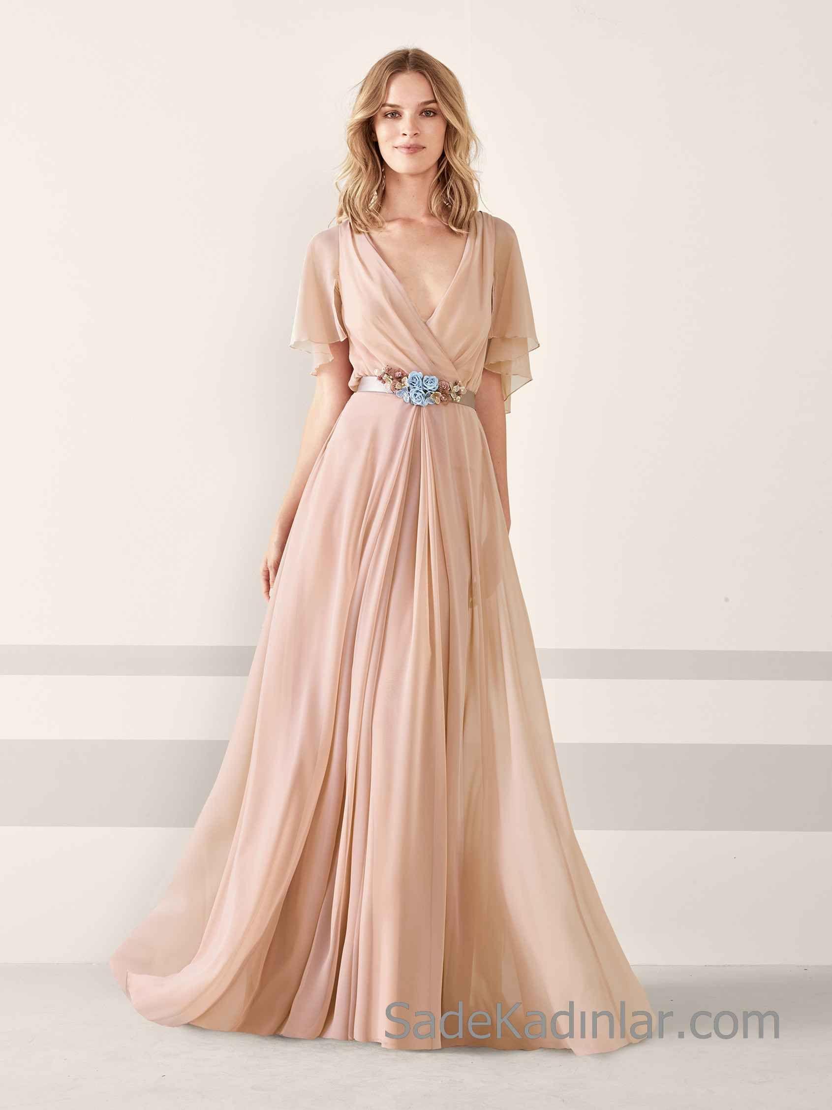 2019 Hamile Abiye Elbise Modelleri