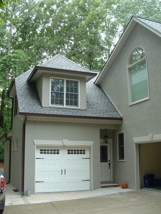 Cute addition garages pinterest garage doors small for House plans with future additions