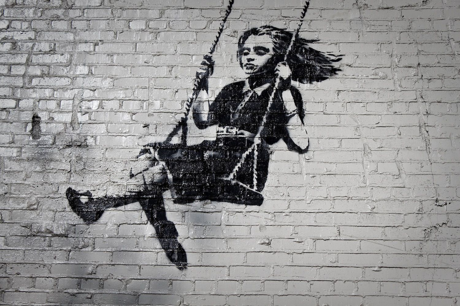 Street Art Of World's Most Famous Unidentified Person