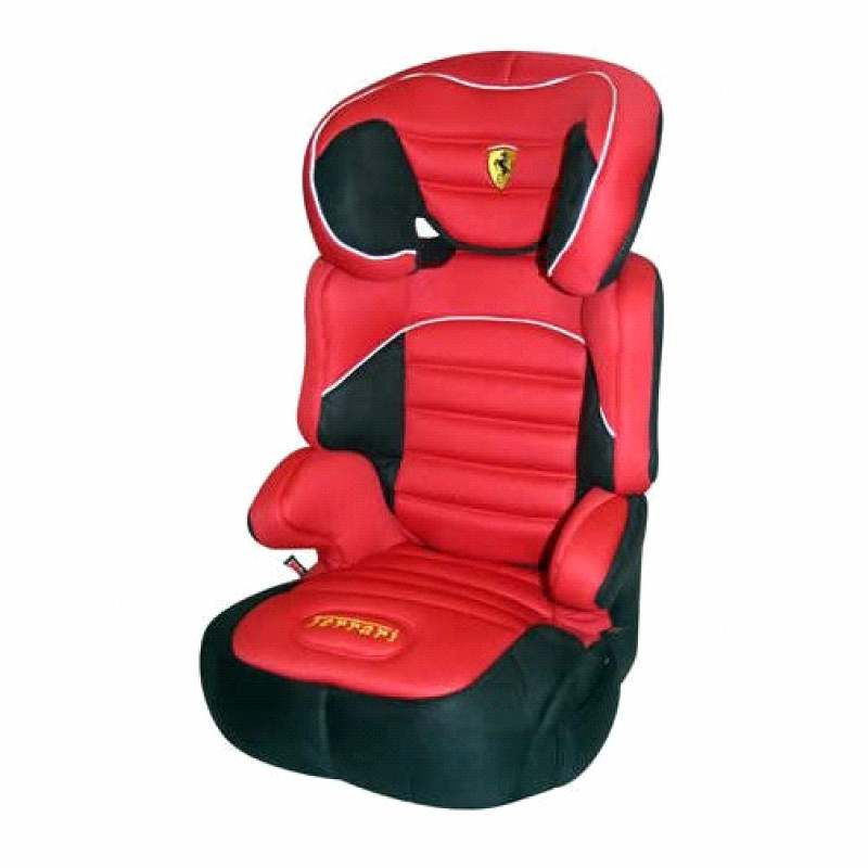 Ferrari Race Car Red Dreamway Full Child Seat