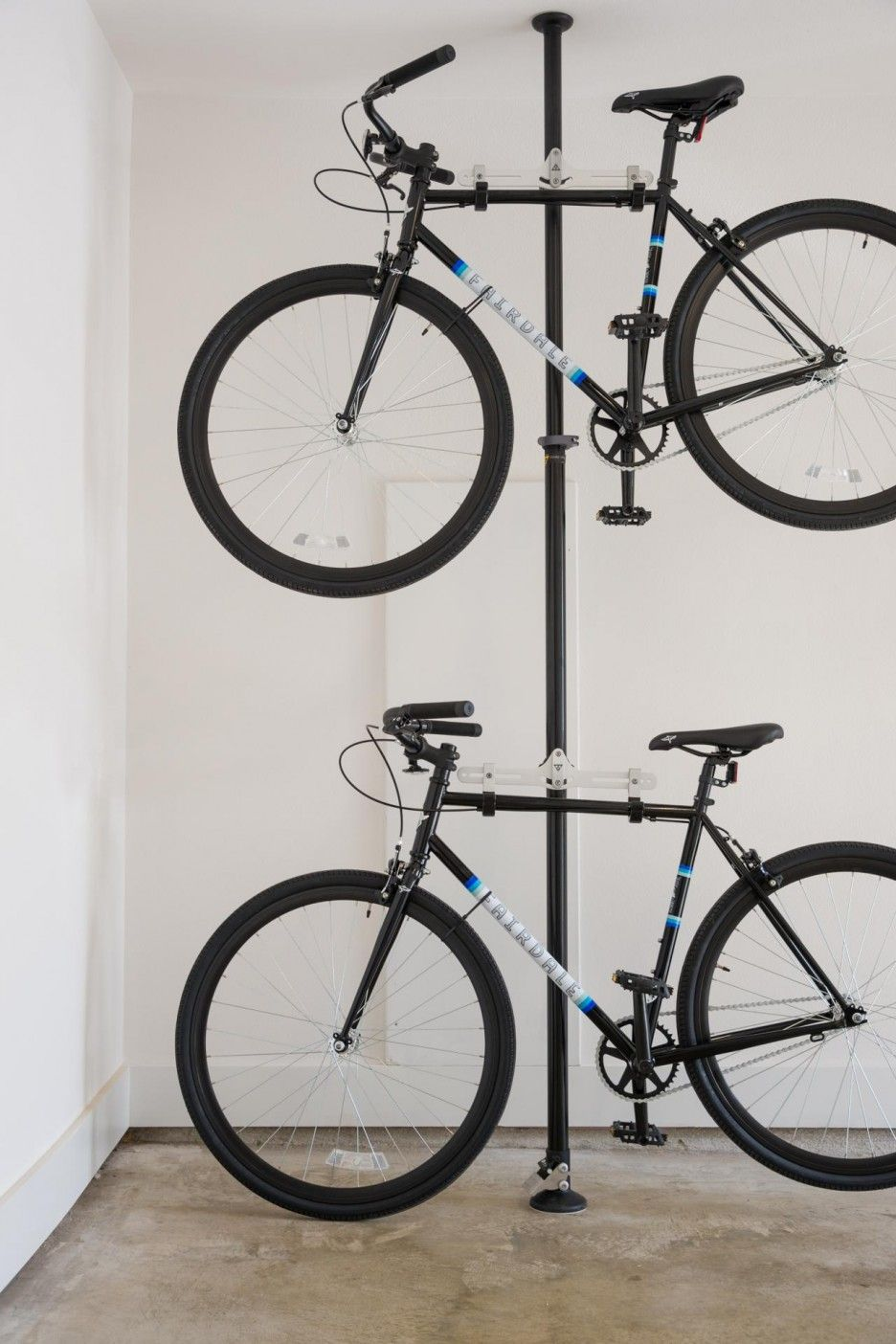overhead garages racks rack motorized bike storage units in actual garage