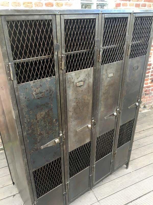 Vestiaire Industriel Grillage 8 Portes Vestiaire Industriel Vestiaire Metal Industriel