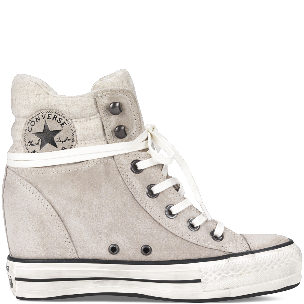 040173add0e1 NEED!!!! Chuck Taylor Platform Plus Collar portrait grey