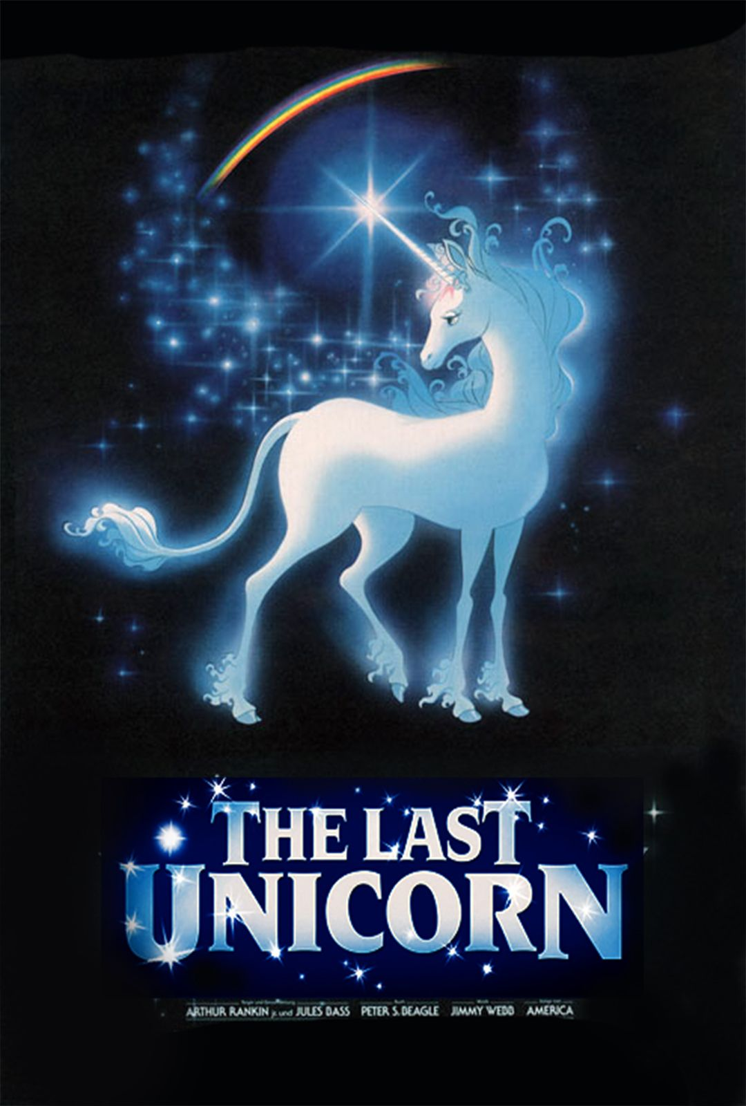 Poster For The Last Unicorn By Peter Beagle In Pittsburgh From