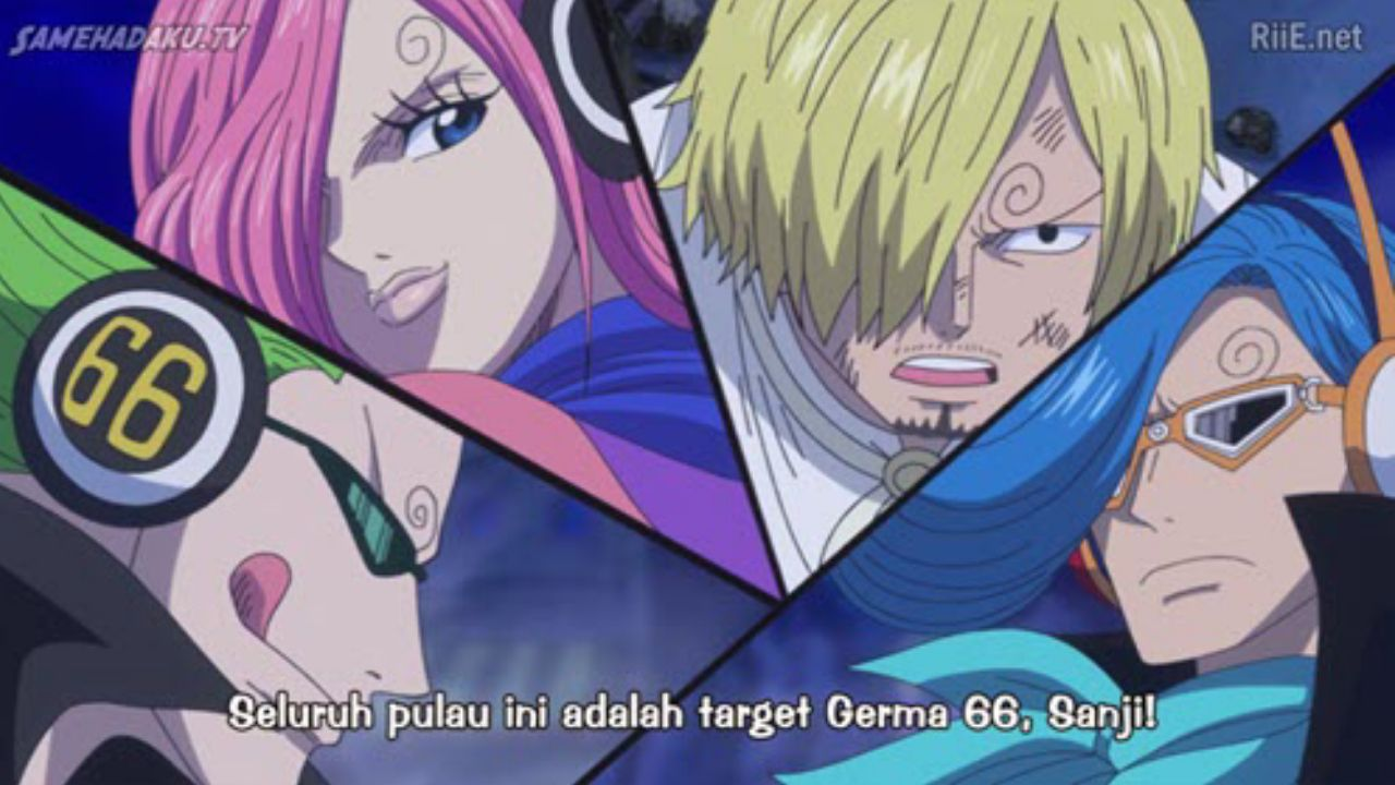 One Piece Episode 873 Subtitle Indonesia Tokyo ghoul