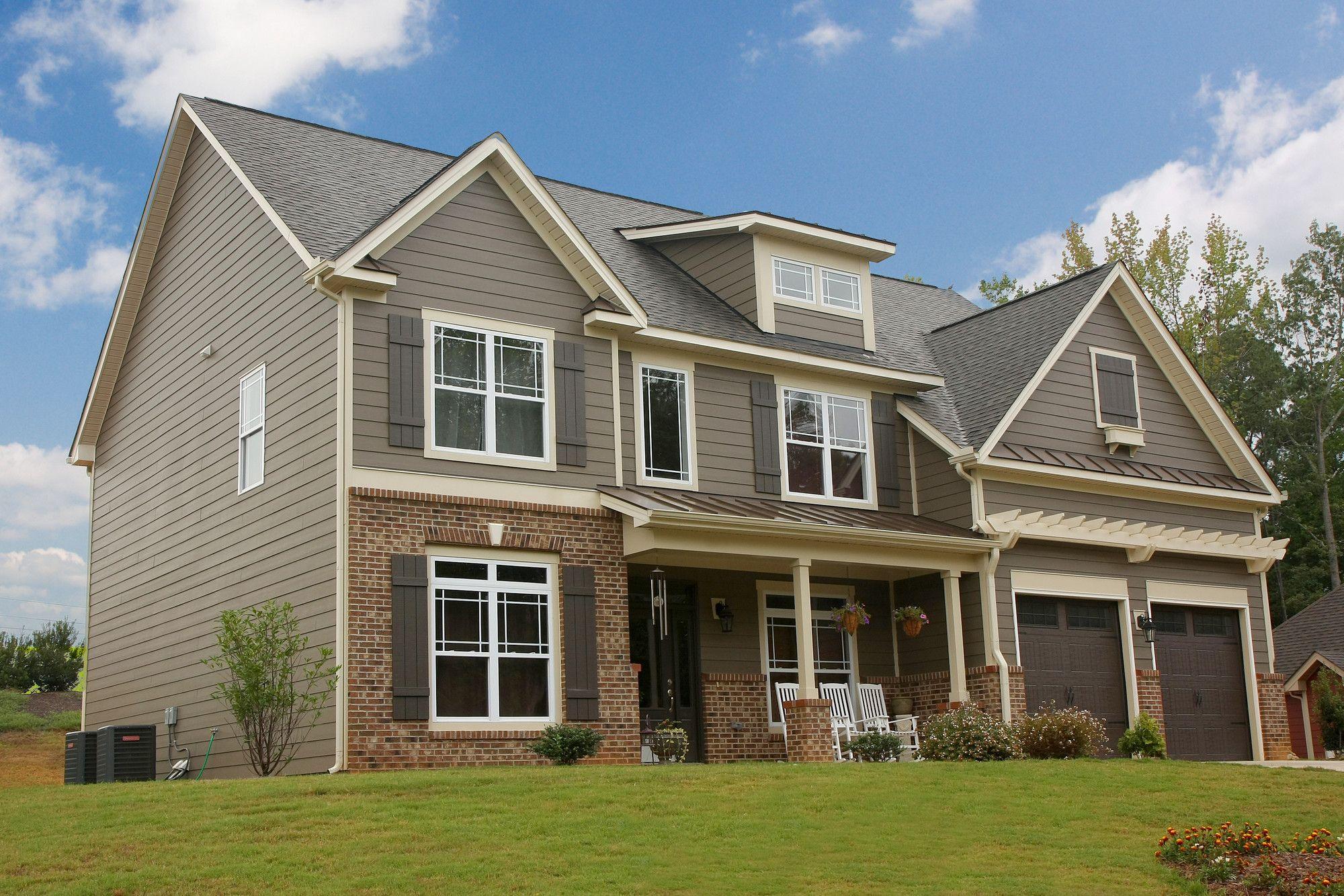 James Hardie Design Ideas Photo Showcase Exterior Paint Colors For House Exterior House Siding House Siding