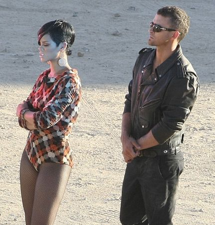 Rihanna In Music Video Rehab Ft Justin Timberlake Rihanna Wearing Rebecca Melrose Earrings Look