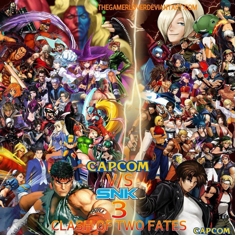 Capcom Vs Snk 3 Wallpaper By Thegamerlover Deviantart Com On