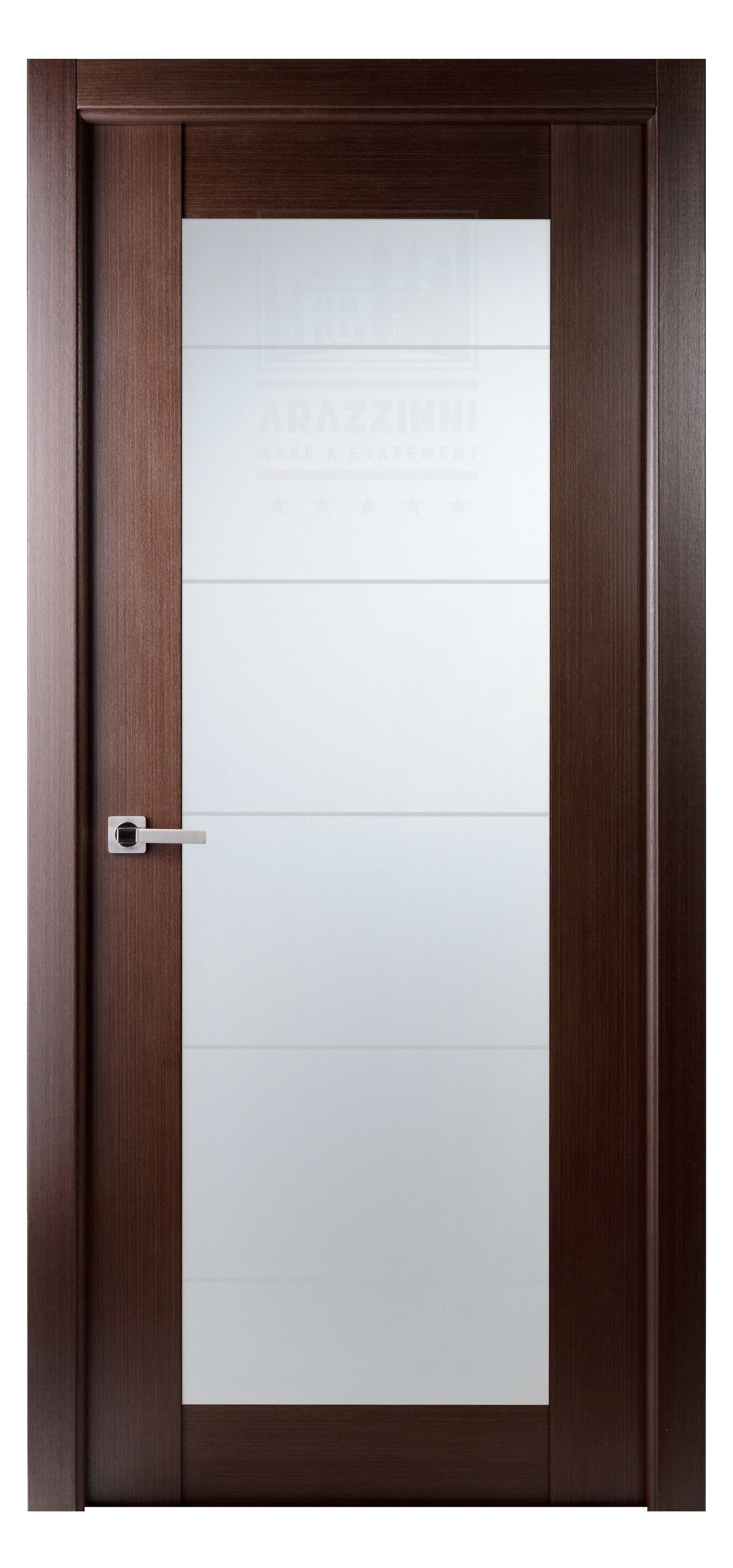 Arazzinni Maximum 209 Interior Door Wenge Frosted Glass Door Doors Interior Modern Interior Pocket Doors