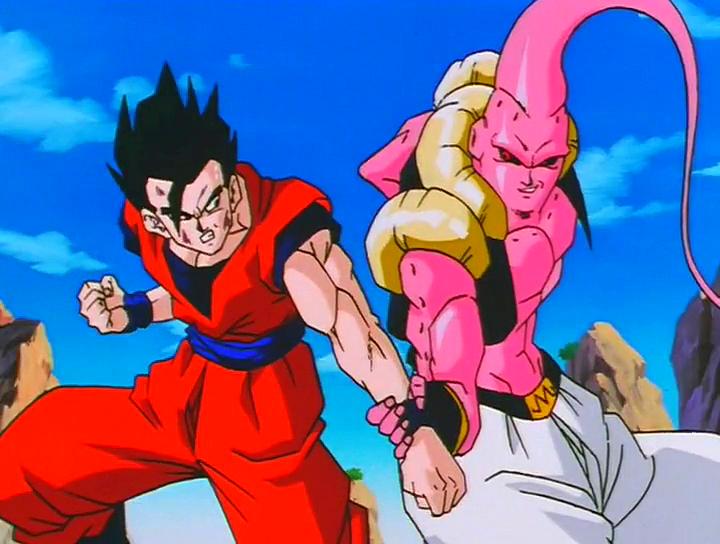 Ultimate Gohan Vs Super Buu Dragon Ball Z Dragon Ball Dragon Ball Art