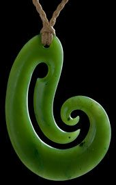 Jade Carving Koru  by Kerry Thompson