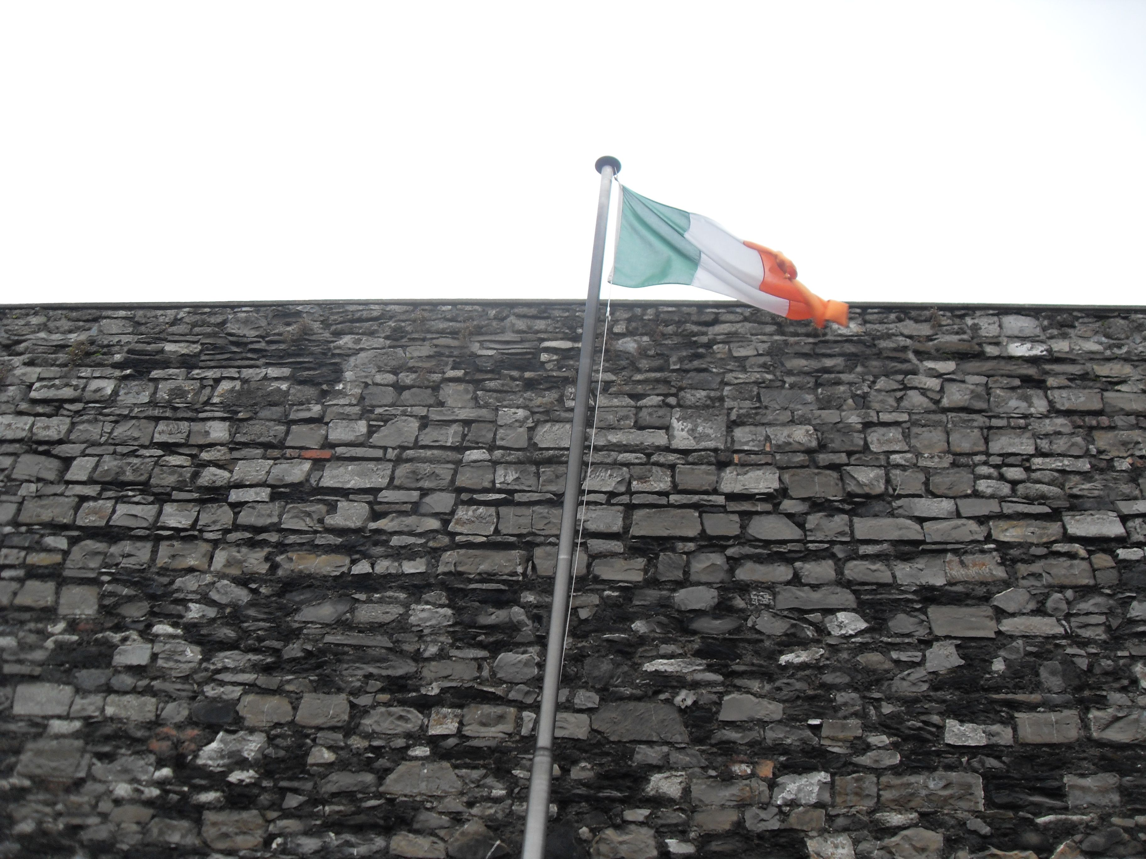 The Wall Of The Courtyard At Kilmainham Gaol Where The Irish Patriot Martyrs Were Executed After The Failed 1 Kilmainham Gaol Irish Heritage Irish Nationalism