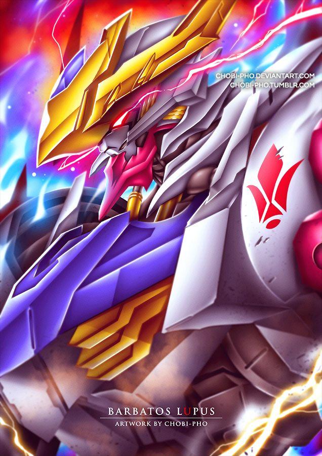Gundam Barbatos Lupus Gundam Wallpapers Gundam Art Gundam