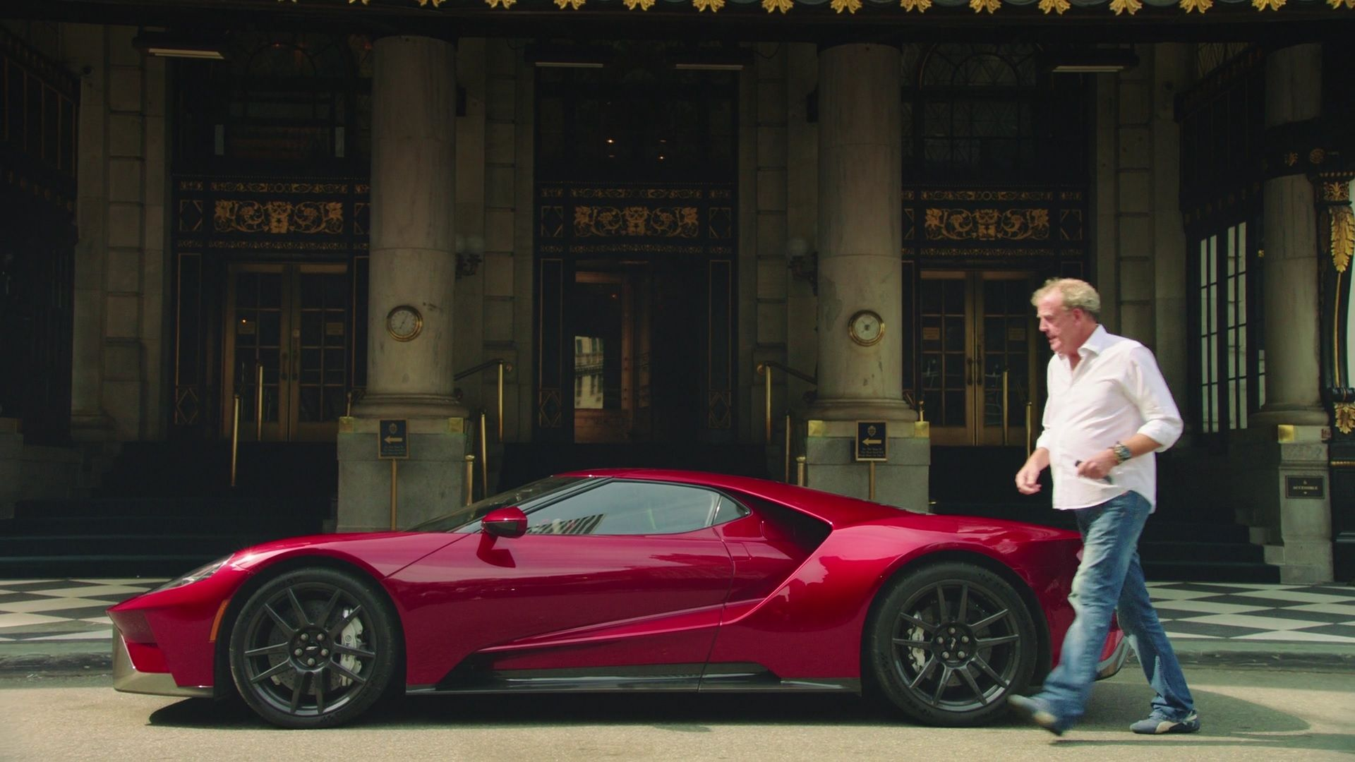 The Grand Tour Clarkson With Ford Gt Grand Tour Ford Gt Grands